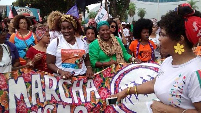 Marcha de las Mujeres en Brasilia