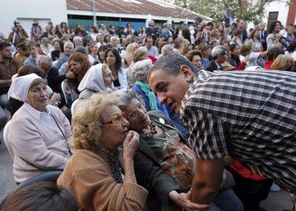 Abuelas de Plaza de Mayo y otros colectivos de DDHH piden el voto para Scioli