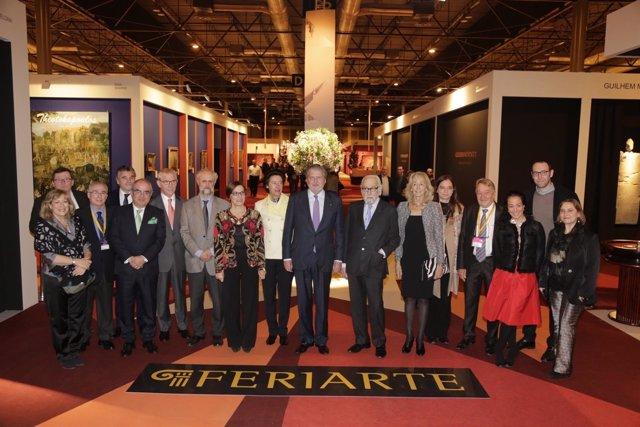 Inauguración de la 39ª edición de Feriarte