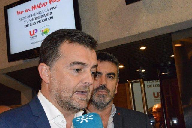 Maíllo IU morón rueda de prensa málaga