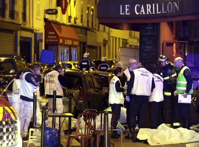 Atentados terroristas en París viernes 13 de noviembre
