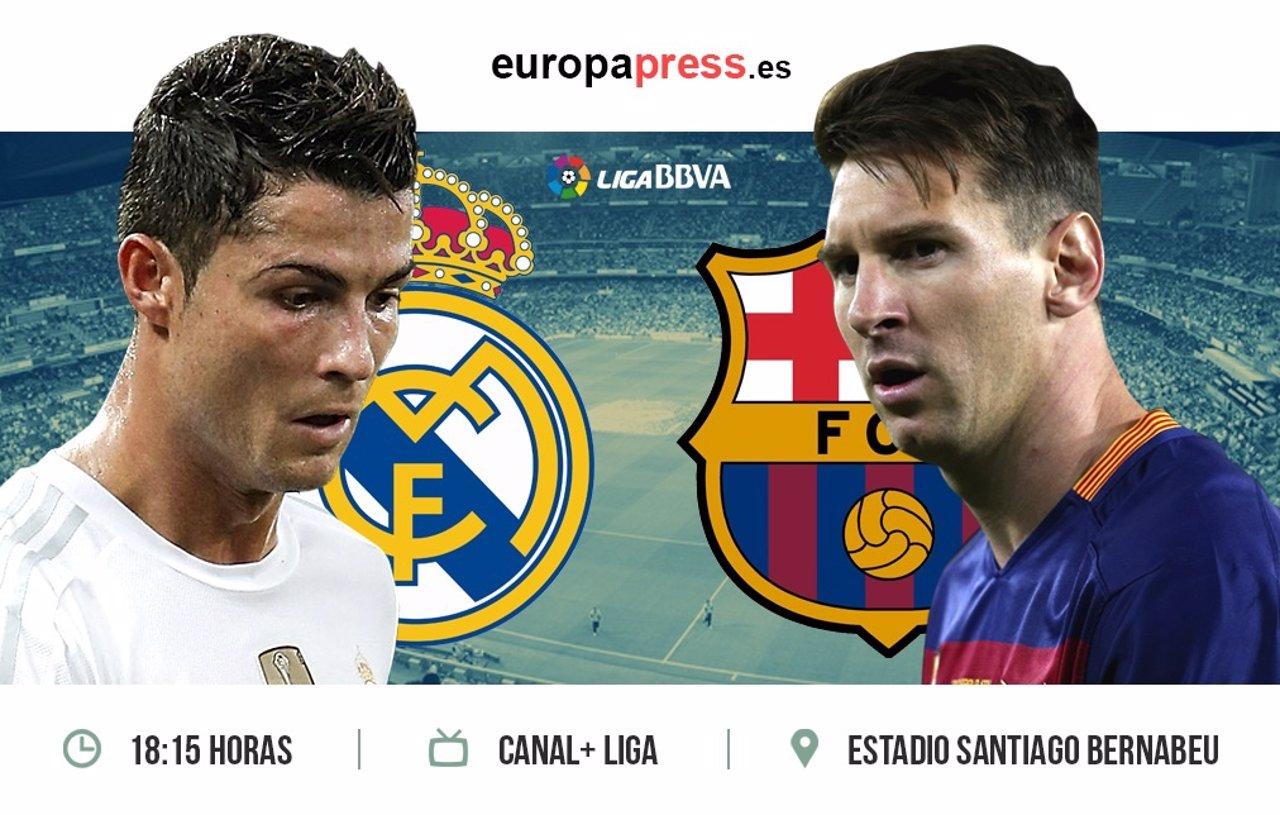 Horario y d nde televisan el real madrid barcelona for Televisan el madrid hoy