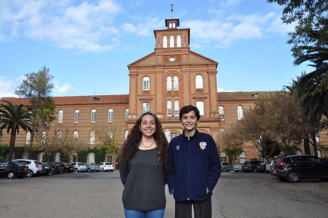 Alumnos de Villafranca que viajarán a China