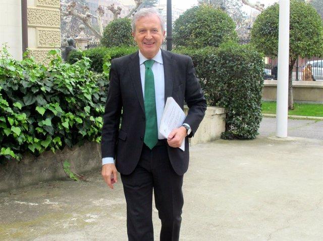 El consejero de Presidencia, Emilio del Río