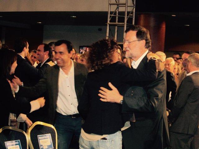 Dolors Montserrat, Mariano Rajoy (PP)