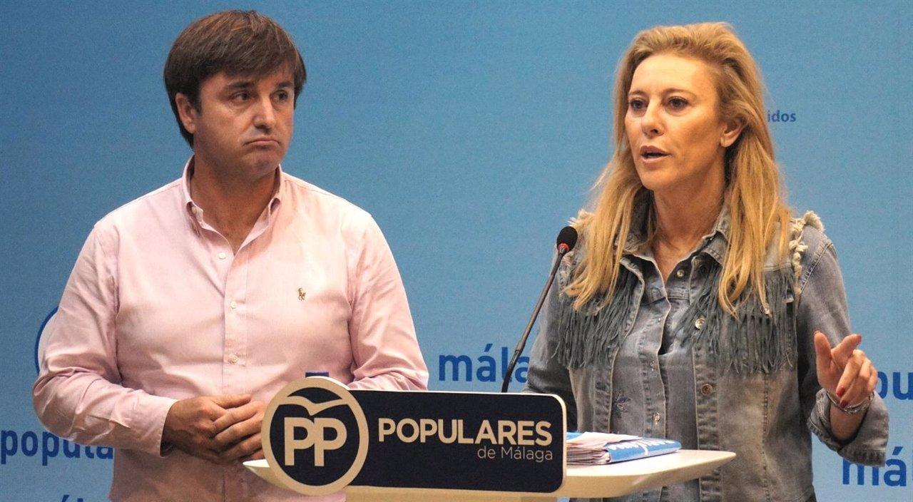 Avelino Barrionuevo, candidato PP Senado, y Carolina España Congreso