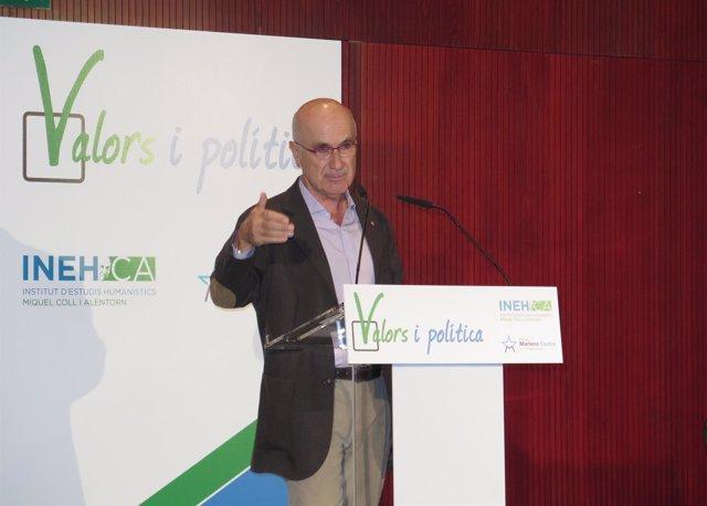 Josep Antoni Duran en un acto de Unió