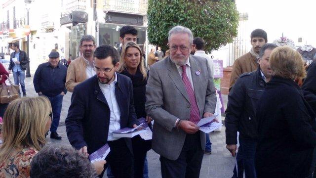Sergio Pascual y Luis Carlos Rejón en Tomares (Sevilla)
