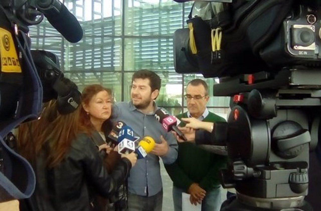 Alberto Jarabo y Juan Pedro Yllanes en el Palma Arena
