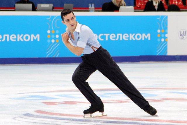 Javier Fernández patinaje Grand Prix Moscú
