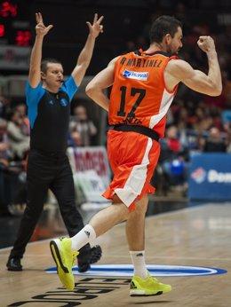 Valencia Basket- Umana Reyer Venezia 02,Rafa Marinez.