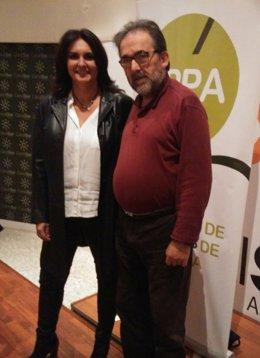 Eva Navarrete y Antonio Manfredi