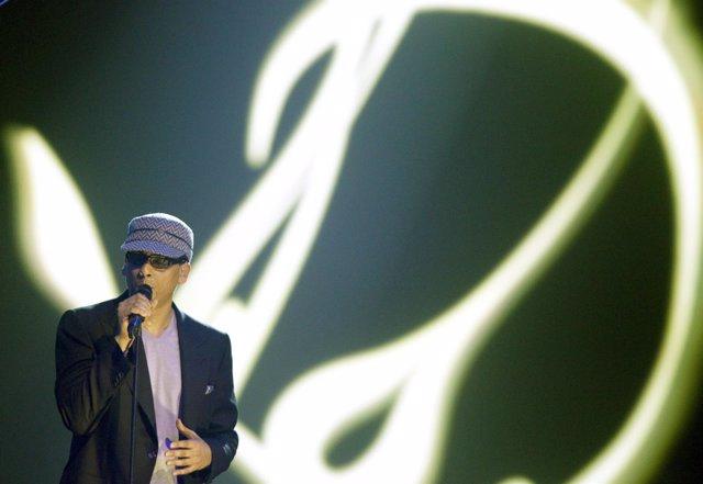 El cantante alemán Xavier Naidoo