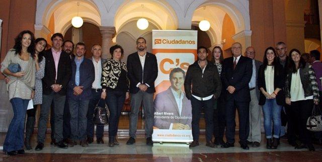 Acto de Ciudadanos en Huelva