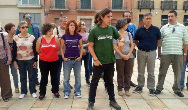 José Antonio Vargas, secretario general de Podemos Málaga, con círculos afines