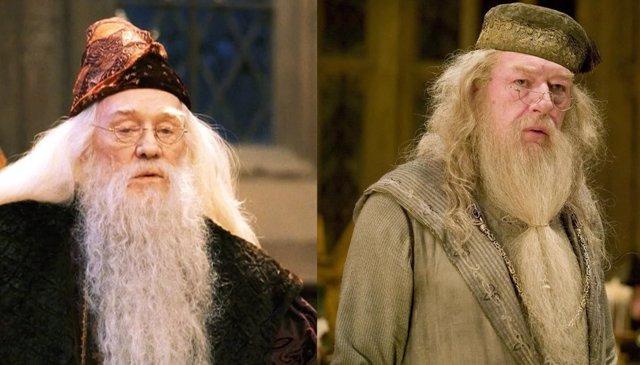12 personajes de Harry Potter que cambiaron de actores en las secuelas