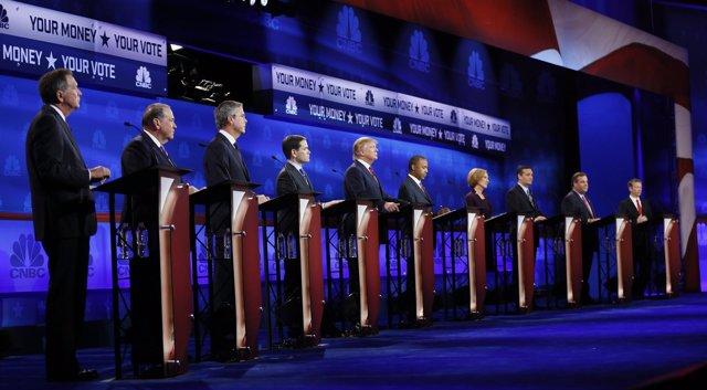 Debate candidatos republicanos