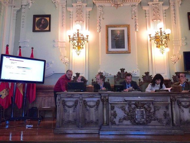 Pleno  para la realización del sorteo de las mesas electorales