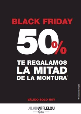 Alain Afflelou Black Friday