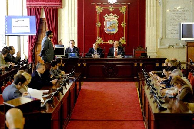 Pleno extraordinario mesas electorales 20 de diciembre De la Torre Málaga