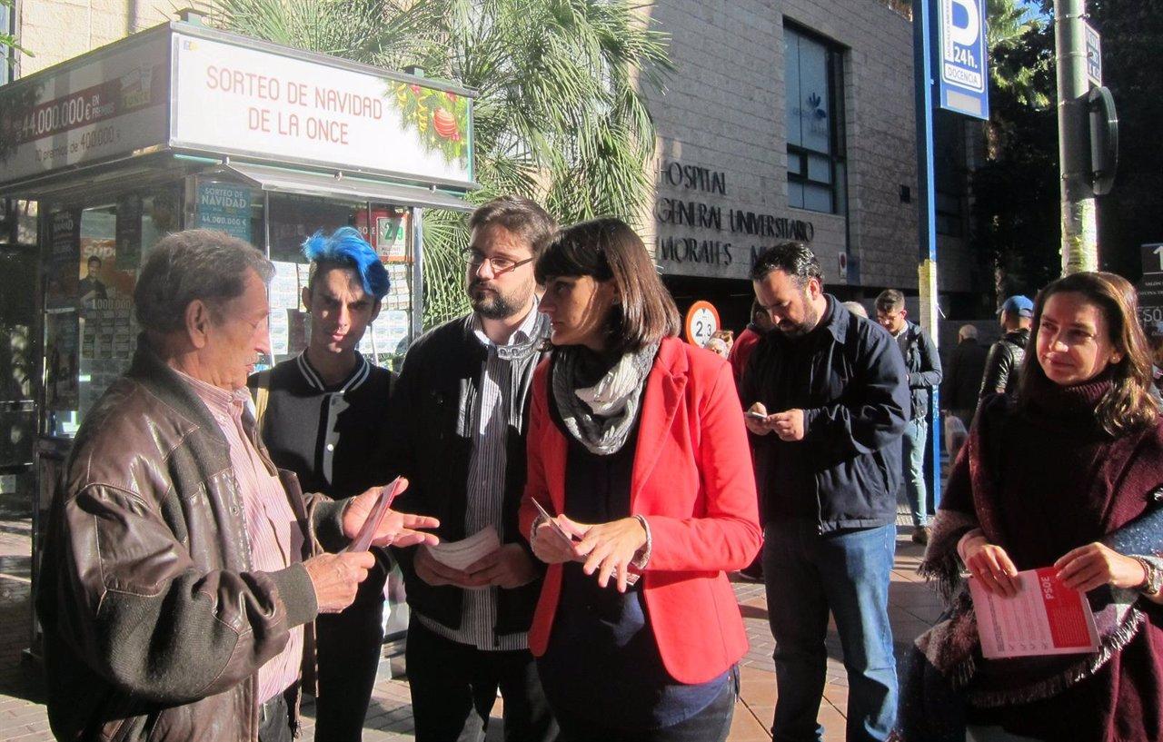 González Veracruz lleva a cabo un 'Calle a calle' en Murcia