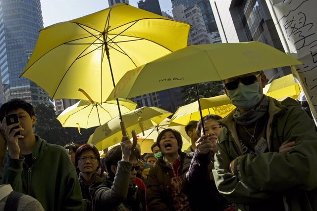 Revolución de los Paraguas en Hong Kong
