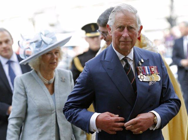 El príncipe Carlos de Inglaterra y su mujer, Camila Parker
