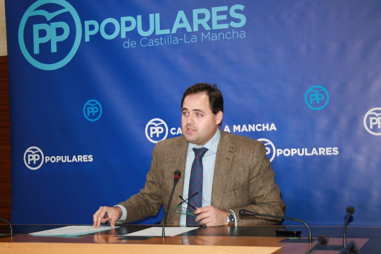 GPP CLM (Cortes De Voz Y Fotografía) El Portavoz Adjunto, Francisco Núñez, En Ru