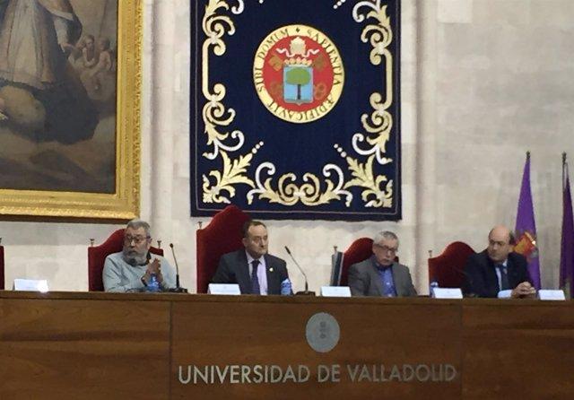 Presentación de la Cátedra de Diálogo Social en la UVA