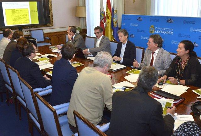 Reunión de la Comisión Mixta del Cabildo de Arriba