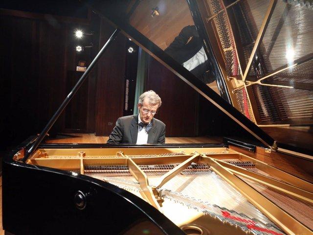El pianista madrileño Luis Fernando Pérez durante una actuación