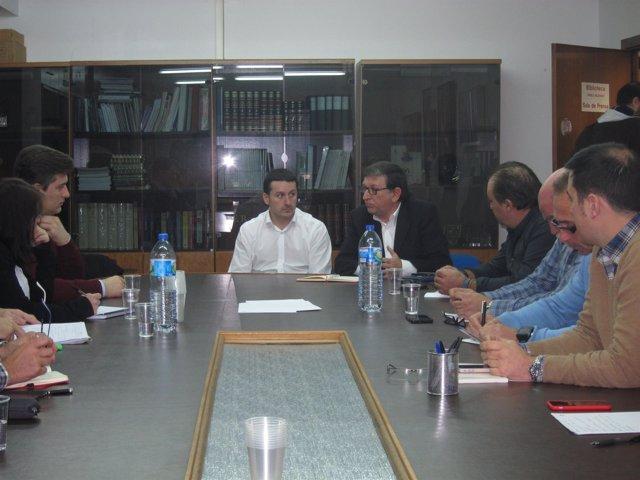 Reunión PSOE Y MCA.