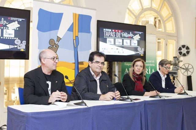 Presentación del 'III Festival de tapas de película'