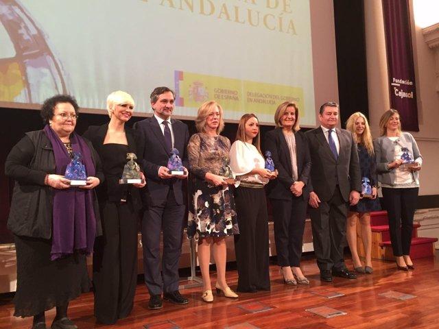 Premios Menina Andalucía.