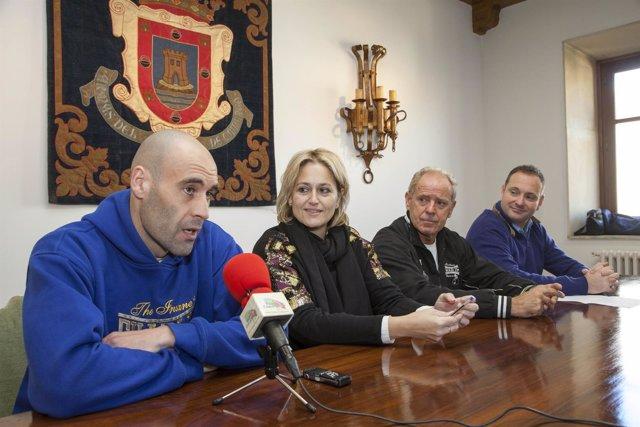 Dani Rasilla La Cobra en la rueda de prensa