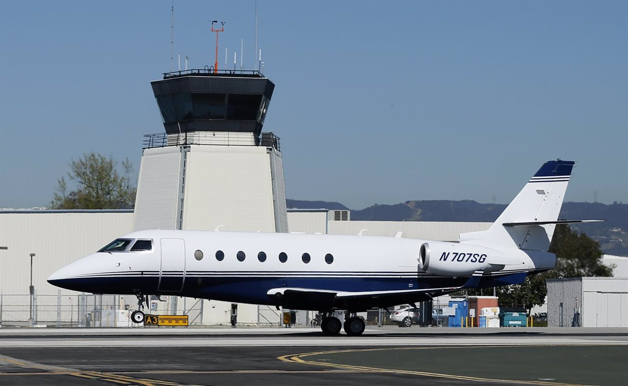 Modelo Gulfstream similar al adquirido por Javier Monzón
