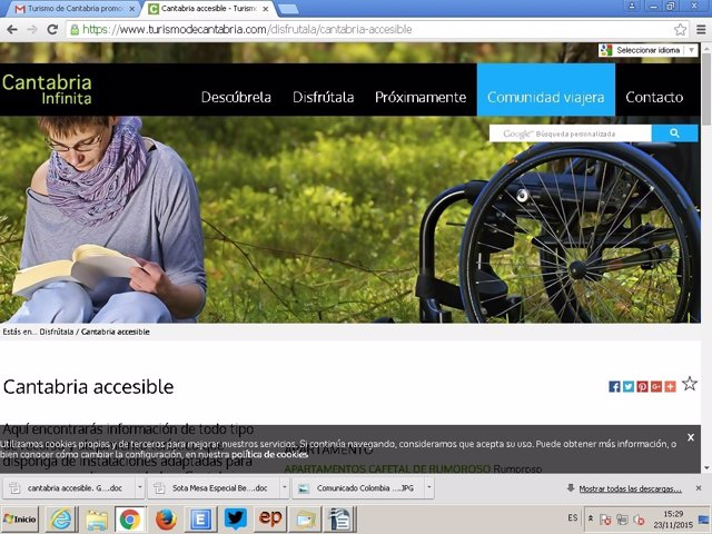 Guía online Cantabria Accesible