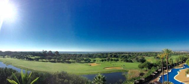 Campo de golf en Huelva.