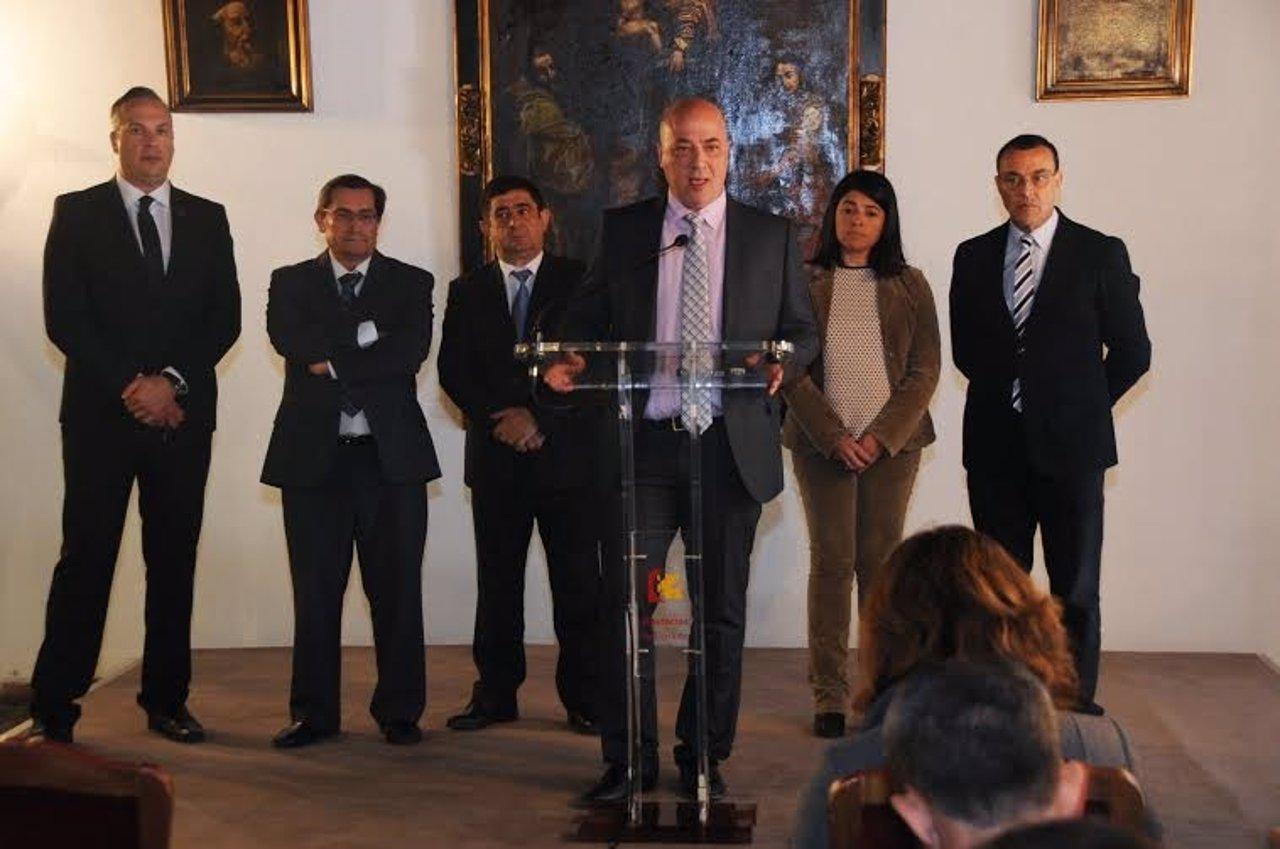 Antonio Ruiz expresa el rechazo a la Ley de Racionalización y Sostenibilidad