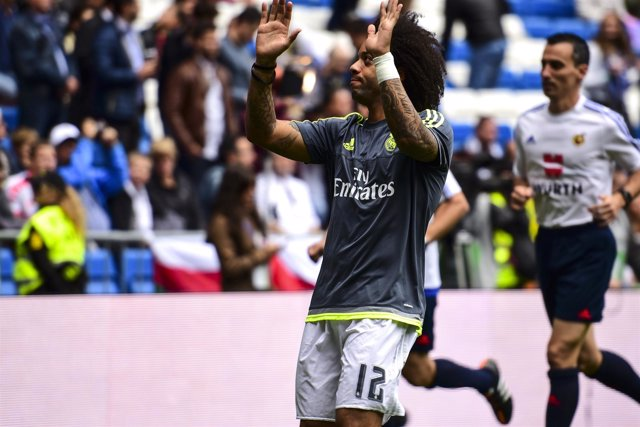 Real Madrid -Las Palmas 2015, Marcelo.