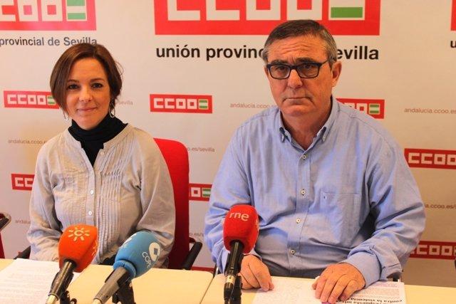 CCOO de Sevilla exige eliminar los recortes para erradicar la violencia machista