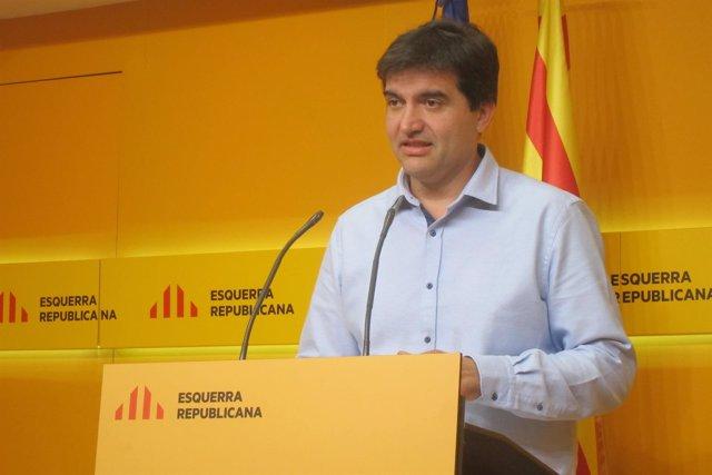 Sergi Sabrià (ERC) (Archivo)