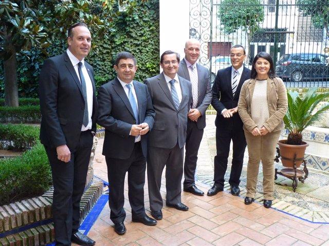 Reunión en Córdoba de varuias diputaciones
