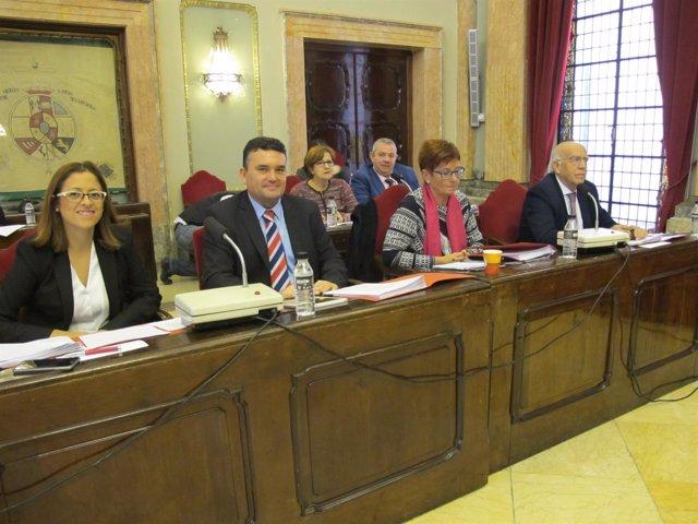 El Grupo Municipal Socialista en el Pleno del Ayuntamiento de Murcia
