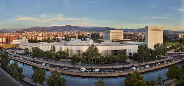 Panorámica del Parque de las Ciencias de Granada.