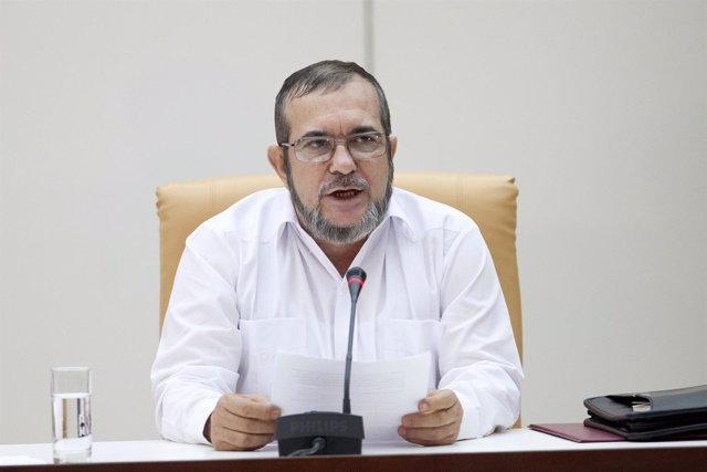 FARC rebel leader Rodrigo Londono,Timochenko FARC