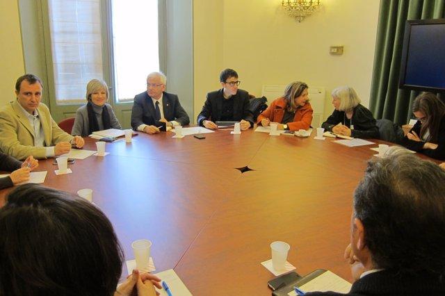 Reunión en Cultura por la posible impugnación del impuesto del Adsl