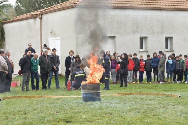 Inauguración de l X Semana de la Prevención de Incendios