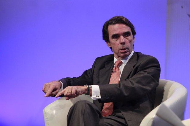 José María Aznar en el foro Futuro en español