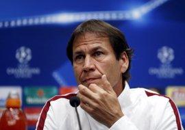 """Rudi Garcia: """"No salimos derrotados, haremos lo posible por ganar"""""""
